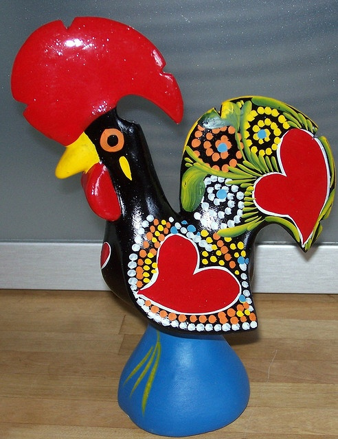 Good Luck Rooster-Galo de Barcelos