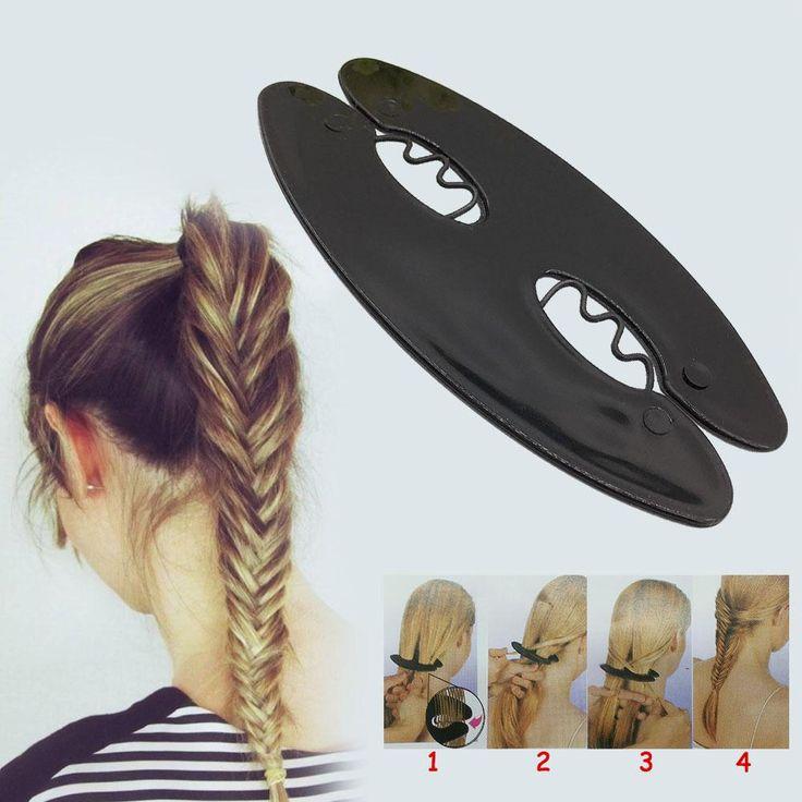New Hot Sale Fashion Girl Magic Twist Styling Hair Braider Braiding Tool Holder Braid DIY Hairdressing Beauty
