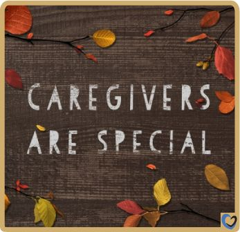 #Caregivers are special people.