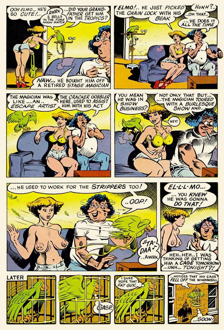 Adult comic sample
