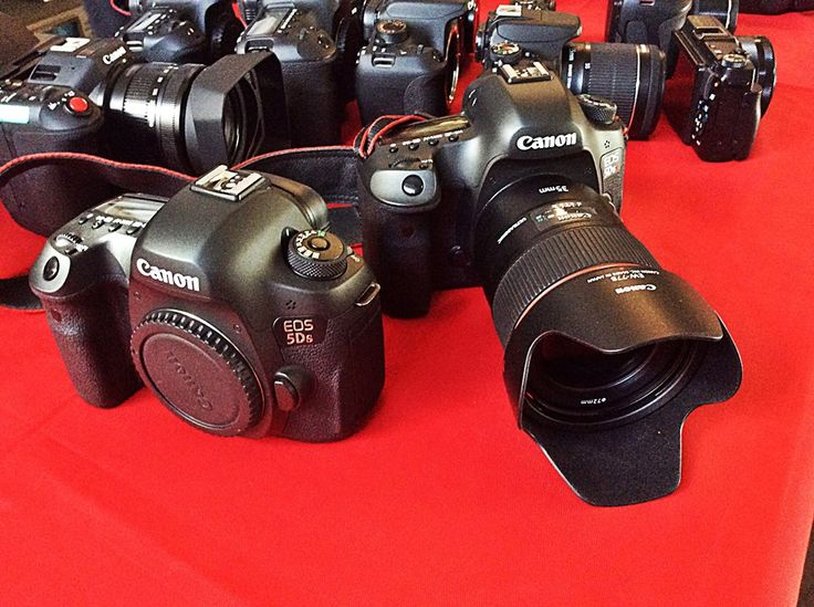 Canon 5DS & 5DS R