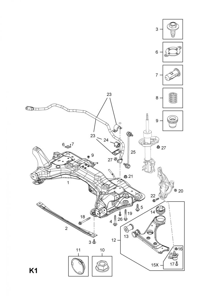 Vauxhall Corsa D Engine Bay Diagram di 2020