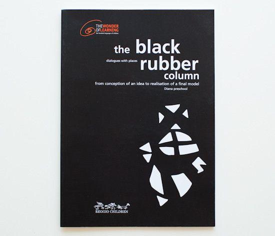 The black rubber column