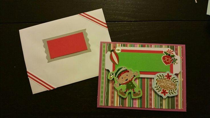 Holiday card 2015 - smiley elf