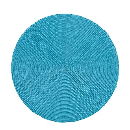 Living & Co Chair Pad Brights Round Blue 40cm