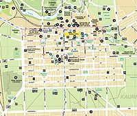 Download a map of Adelaide City