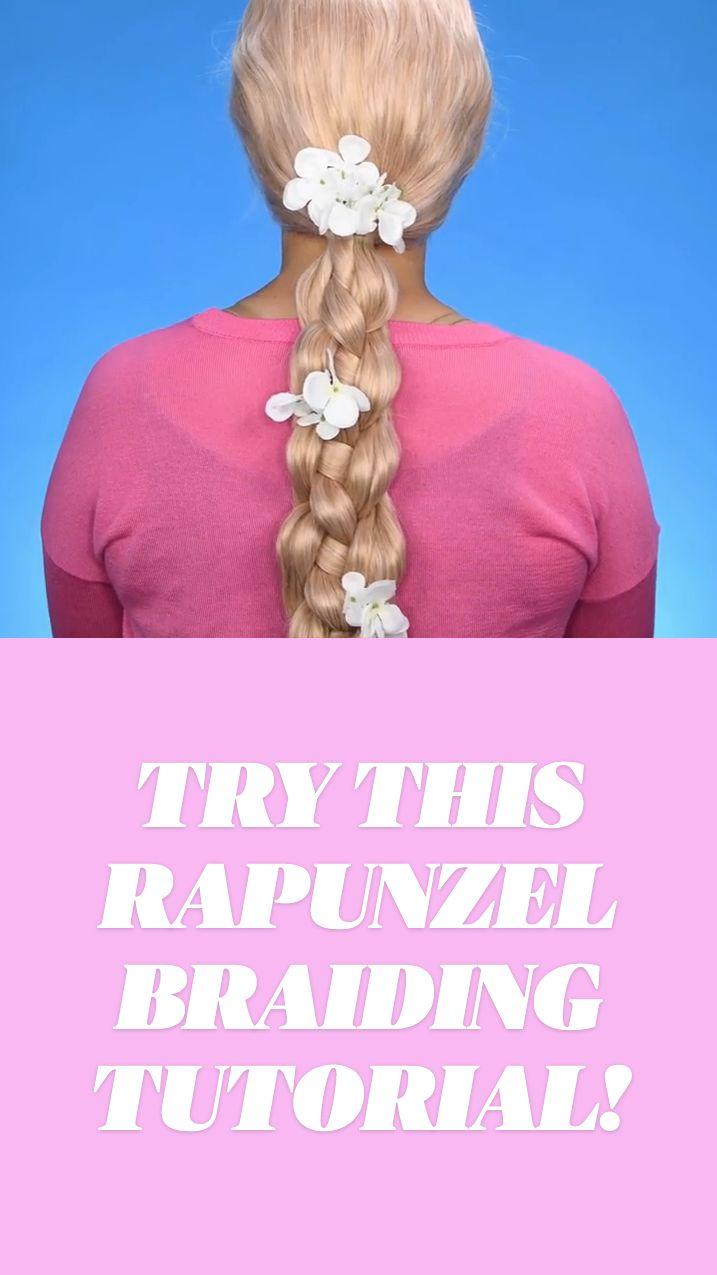 Cute Hairstyles For Teens, Cute Hairstyles For Medium Hair, Teen Hairstyles, Medium Hair Styles, Curly Hair Styles, Weird Videos, Rapunzel Hair, Braid Out, Edgy Hair
