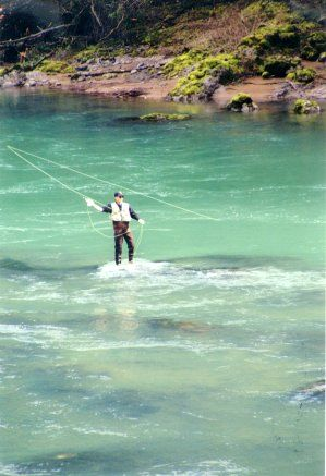 Oregon's North Umpqua-   A Legendary Stretch of Water