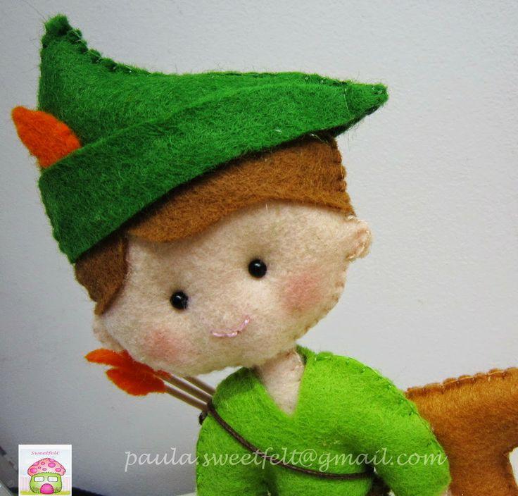 Feltro e Cia: ♥♥♥ Robin dos Bosques ...