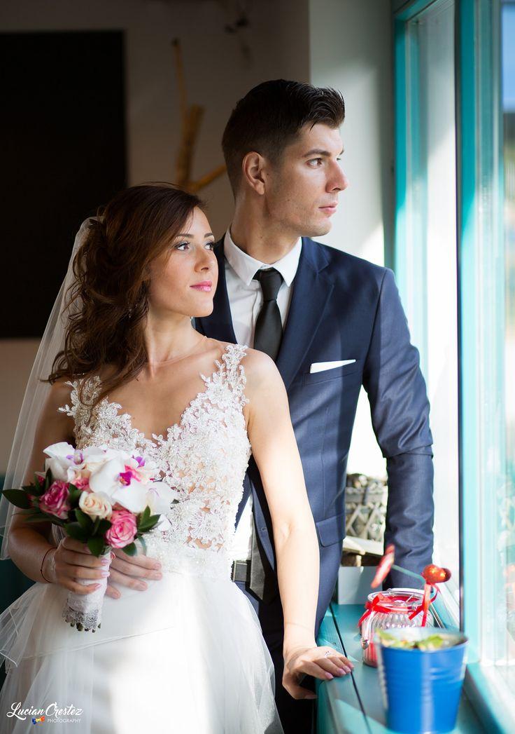 Fotografie de nunta in Braila la restaurantul Peste si Vin