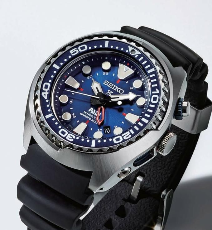 TimeZone : Industry News » N E W M o d e l s - Seiko PADI Divers Automatic and Kinetic