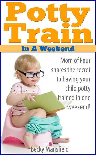 Potty Train in a Weekend - Your complete guide to 3 day potty training. Worked with ALL FOUR of her kids! yourmodernfamily.com