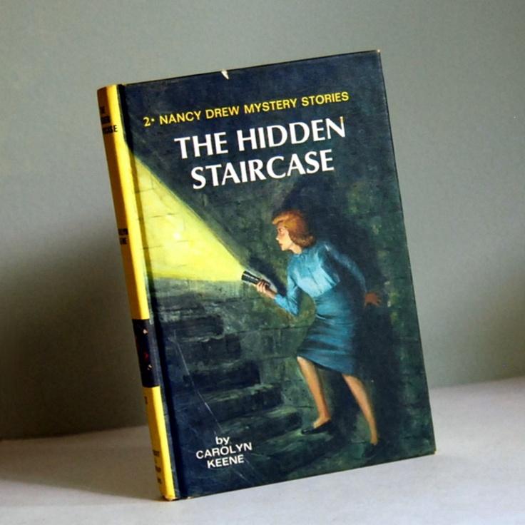 spent hours lost in Nancy Drew books!