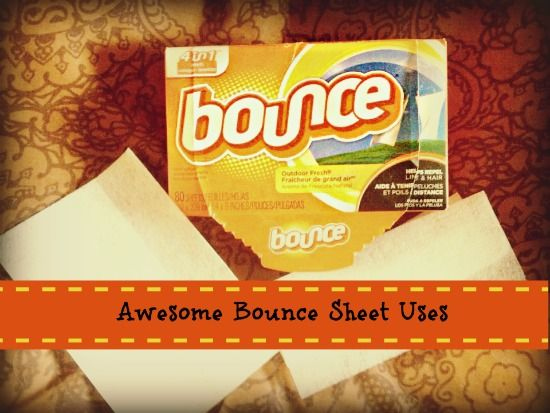 20 Uses For Bounce Dryer Sheets Dryer sheets were invented by a man named Conrad J Gaiser in the 1960's who came up with the idea when his wife wa