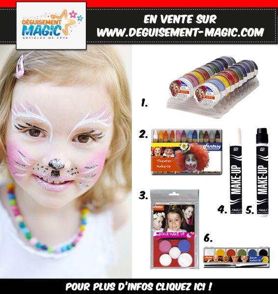 17 meilleures id es propos de deguisement chat sur pinterest deguisement chat enfant - Maquillage chat fille ...