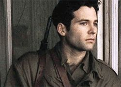 Eion Bailey...good Lord, he looks like a model! Band of Brothers