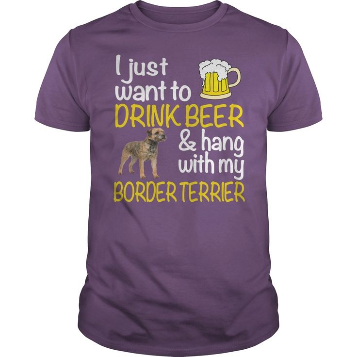 DRINK BEER WITH MY #BORDER TERRIER, Order HERE ==> https://www.sunfrog.com/Funny/DRINK-BEER-WITH-MY-BORDER-TERRIER-Purple-Guys.html?8273, Please tag & share with your friends who would love it, #birthdaygifts #superbowl #xmasgifts  #border terrier painting, border terrier names, border terrier for sale #quote #sayings #quotes #saying #redhead #science #nature #ginger #sports #tattoos #technology #travel