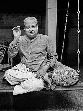 Raghu Rai - Pt. Kumar Gandharva @ Music Maestros: Photographs by Raghu Rai | StoryLTD
