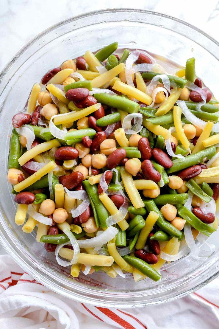 Three Bean Salad Recipe Foodiecrush Com Recipes Salad Bean Easy Classic Best Bean Salad Recipes Three Bean Salad Bean Salad