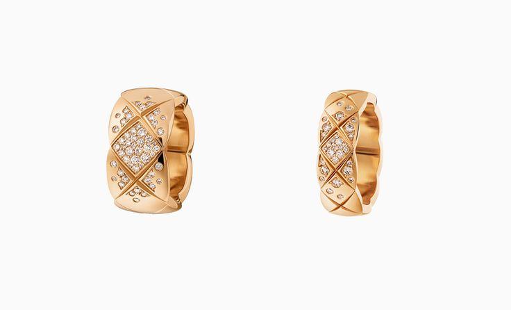 Кольца из розового золота