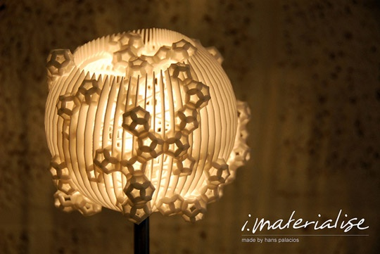 imaterialize.: Table Lamps, 3D Printed, Blog Designs, Printed Table