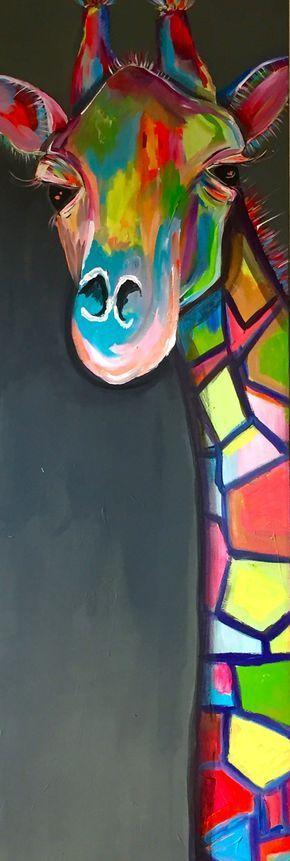 Meine Bilder sollen Spaß machen und dürfen auch zum Schmunzeln anregen. Ich male vor allem farbstarke Tier- und Pflanzenbilder, die ich unter anderem mittels Proportion und Farbe verfremde. Bei mir soll und darf es bunt, expressiv und humorvoll sein. In meinem Atelier können Sie die Bilder besichtigen und erwerben. Das Besondere ist aber, dass ich auch