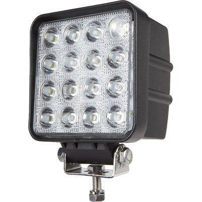 BTMTEC BT48WS60DE Brightum 6 X 4.3 Inch 4560Lm Phare De Travail Led 48W Lampe Voiture Suv Atv Tracteur Pelleteuse Camion Grue 4X4 Camion…