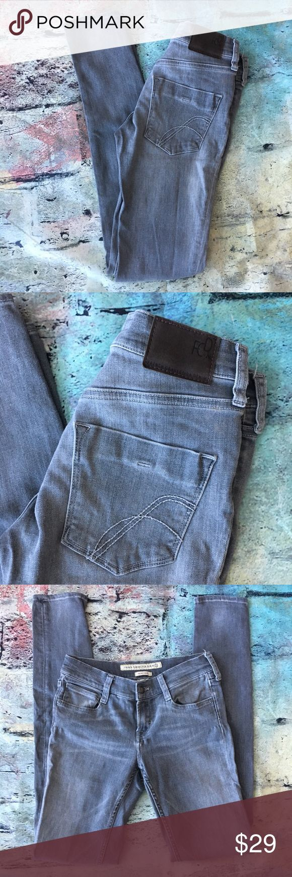 French Connection grey skin tight French Connection grey skin tight 4 x 33 French Connection Jeans Skinny