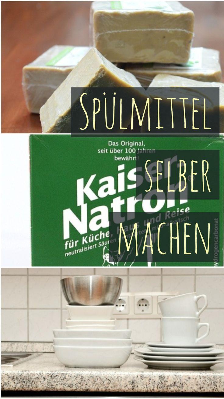 Spülmittel selber machen: Rezept zum Handspülen und für Geschirrspüler