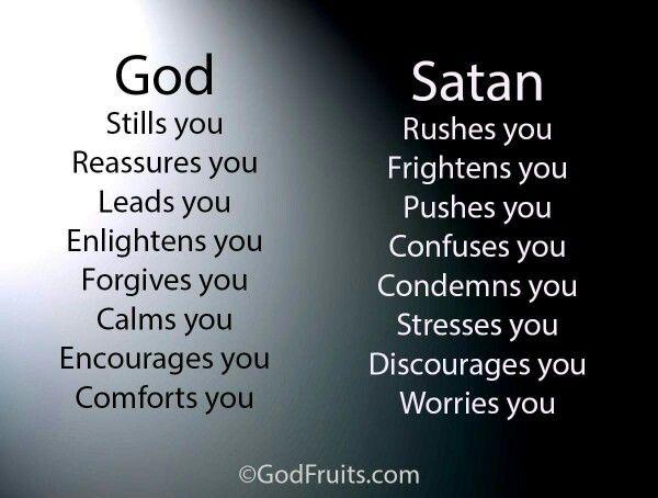 God Vs Satan I Will Go With God Will You?                                                                                                                                                      More