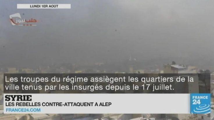 Contre-attaque des rebelles à #Alep en #Syrie, purge en #Turquie, fusillade à #Austin, et retour d'Harry Potter... Le point sur l'actualité en #VIDÉO