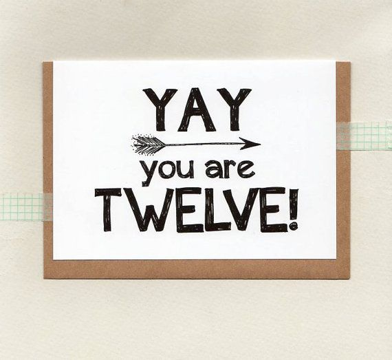 YAY you are TWELVE or choose another age . kids by ThePaisleyFive