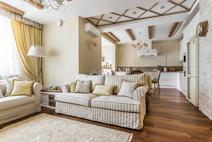 Квартира в стиле шале.