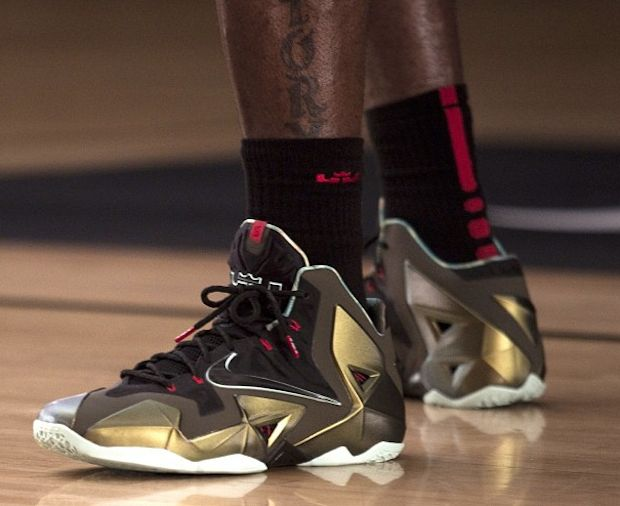"Nike LeBron 11 ""Parachute Gold"" (Official Images) 