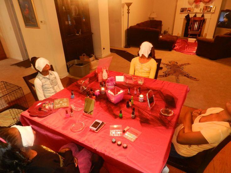 Teen spa parties