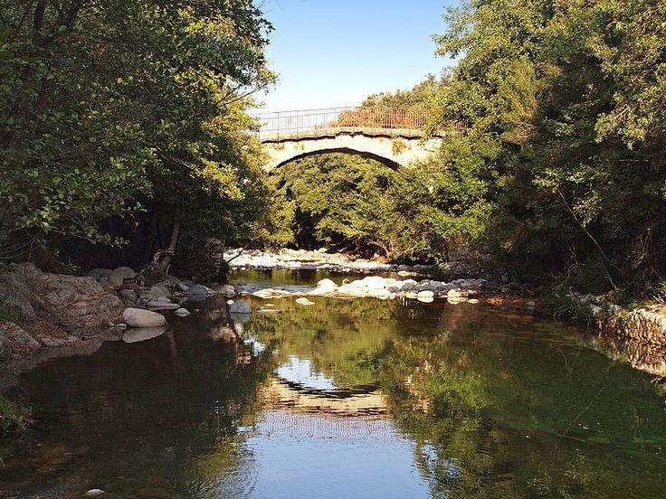 Corsica - Ponts Genois ---- Moltifao-Vieux pont genois - Ponte Vecchiu sur la D147 Moltifao