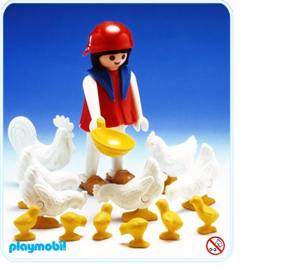my playmobil chickens