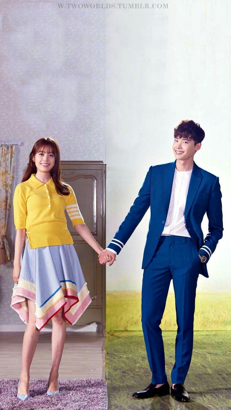 "Dorama ""W - Two Worlds"", Lee Jong Suk, Han Hyo Joo. MBC Julio-Sep 2016"