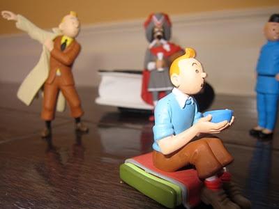 Tin Tin figurines