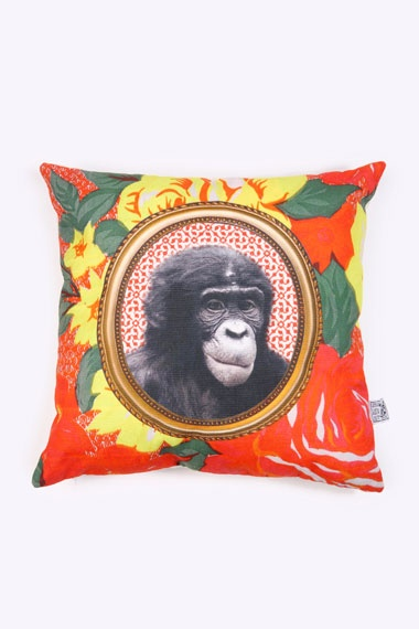 Tropical Gorilla Cushion Cover