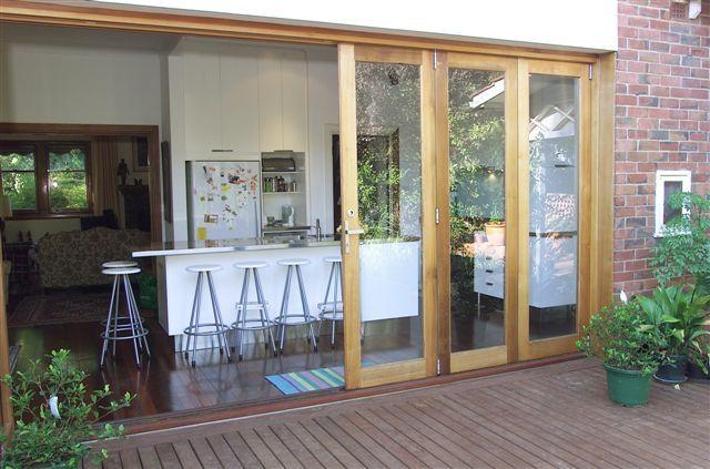 Deck and kitchen