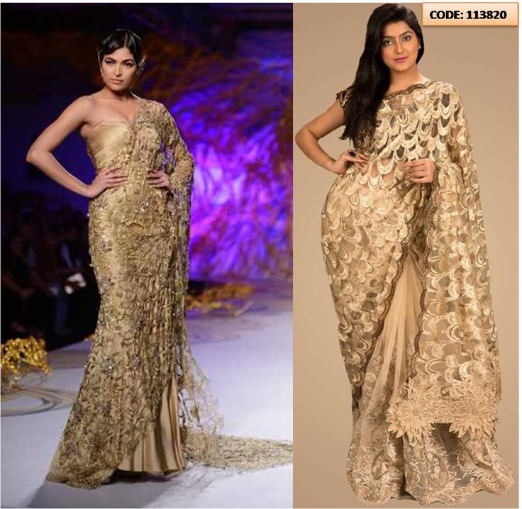 gaurav-gupta-gold-saree