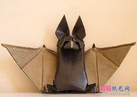 paper bat crafts | bat origami,origami bat instructions,bat origami instructions,origami ...