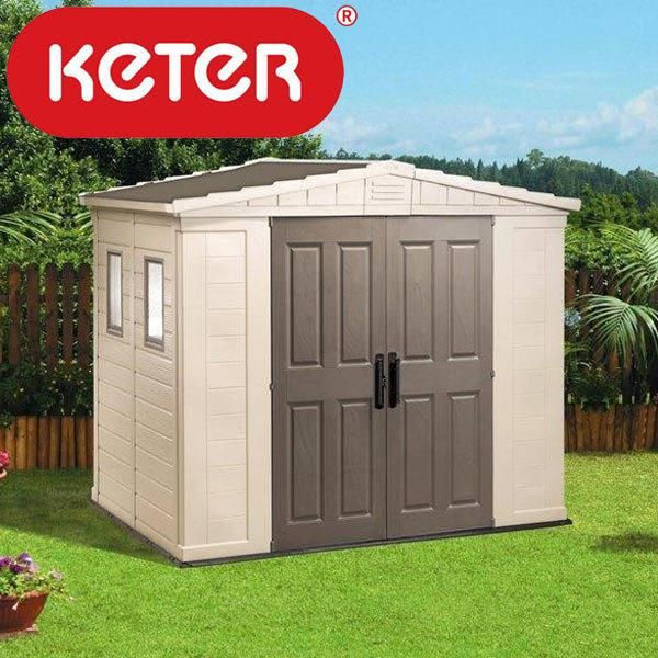 keter plastic shed assembly instructions