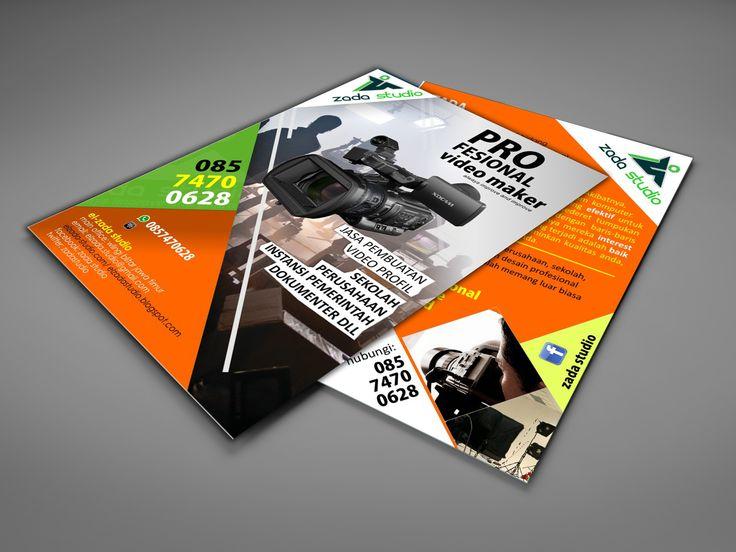 multimedia company flyer