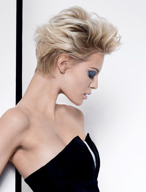Pin By Anna Terenteva On Blond Pinterest Short Hair Styles Hair