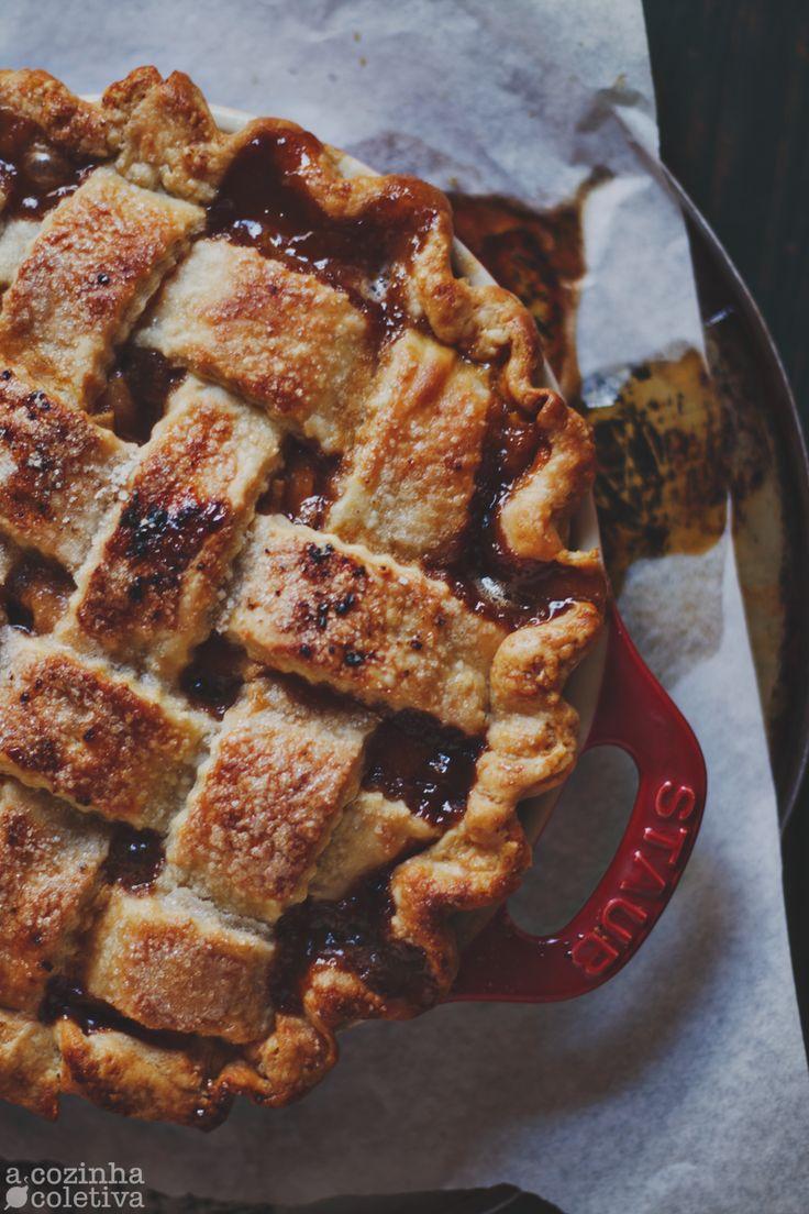 A Cozinha Coletiva: Torta de Maçã e Caramelo Salgado