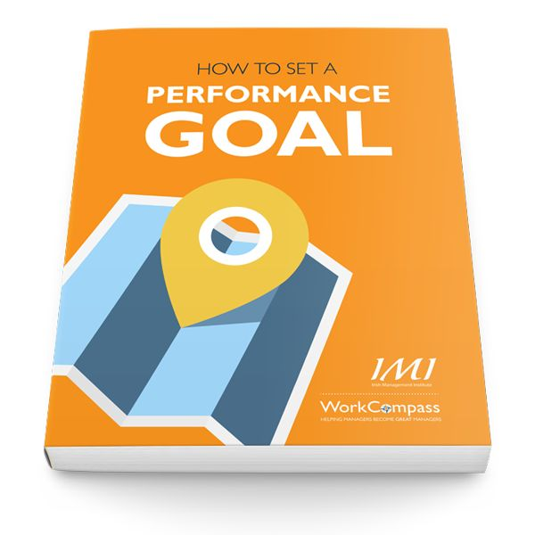 Free guide: How to set an employee performance goal ebook. --------------------------------------------------------------------------------- Without goals people will occupy themselves with activities that keep them busy; usually activities they are most comfortable doing, but which contribute very little to the organization's success.  Goals define desired outcomes. They are the building blocks for performance planning, appraisal and improvement.