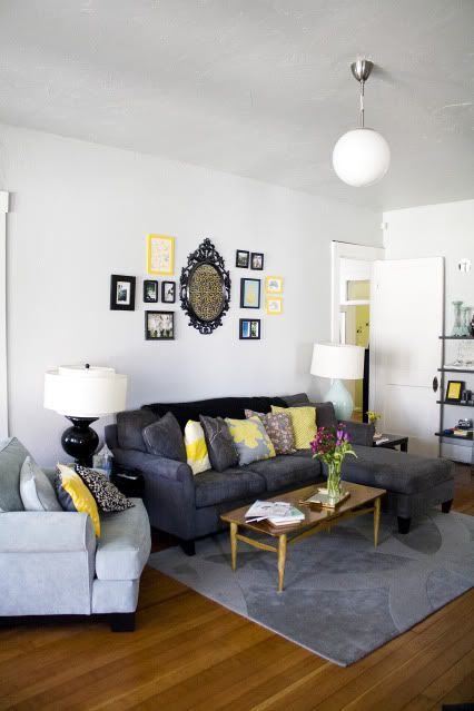 warming to this yellow and grey colour scheme Tam
