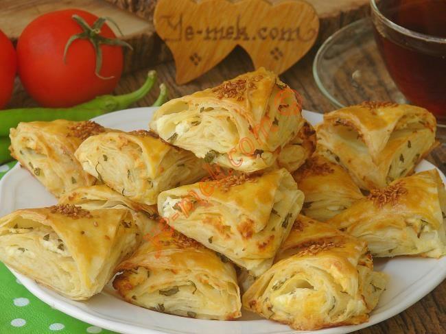 Peynirli Çıtır Üçgen Börek Resmi